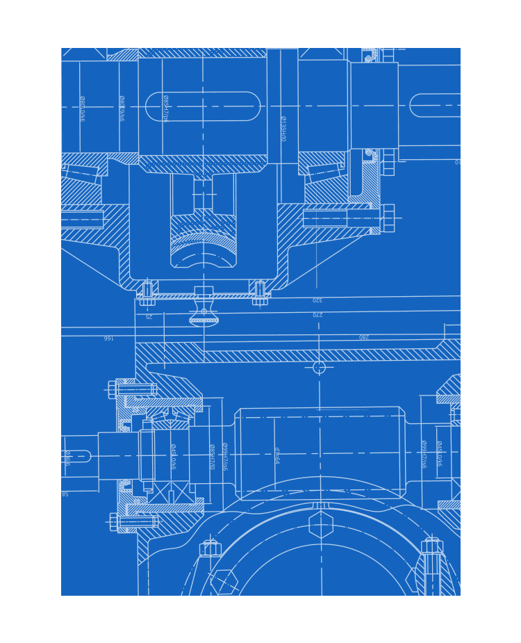 Abstract Image of a Blueprint